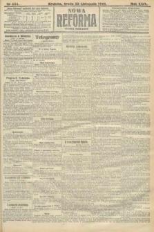 Nowa Reforma (numer poranny). 1910, nr535