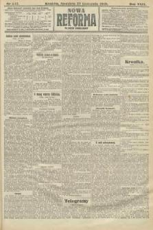 Nowa Reforma (numer poranny). 1910, nr543