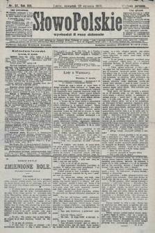 Słowo Polskie (wydanie poranne). 1908, nr37