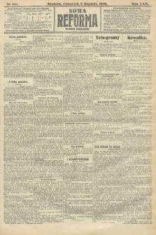 Nowa Reforma (numer poranny). 1910, nr561