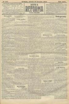 Nowa Reforma (numer poranny). 1910, nr563