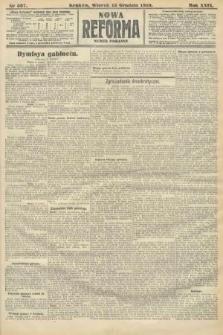 Nowa Reforma (numer poranny). 1910, nr567