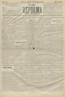 Nowa Reforma (numer popołudniowy). 1910, nr576