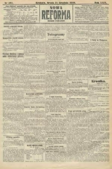 Nowa Reforma (numer poranny). 1910, nr581
