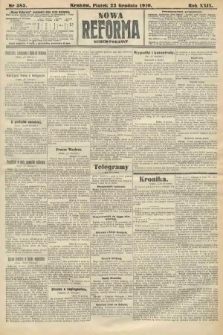 Nowa Reforma (numer poranny). 1910, nr585