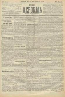 Nowa Reforma (numer popołudniowy). 1910, nr586