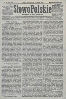 Słowo Polskie (wydanie popołudniowe). 1908, nr68