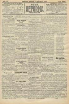 Nowa Reforma (numer poranny). 1910, nr587