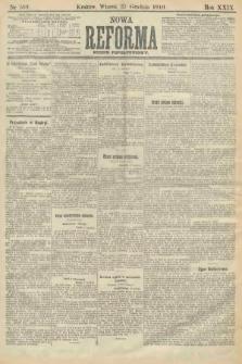 Nowa Reforma (numer popołudniowy). 1910, nr589