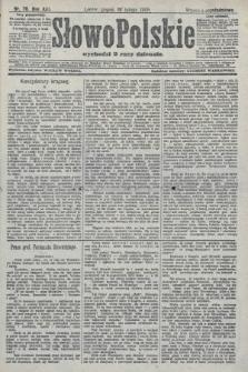 Słowo Polskie (wydanie popołudniowe). 1908, nr76