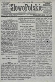 Słowo Polskie (wydanie poranne). 1908, nr81