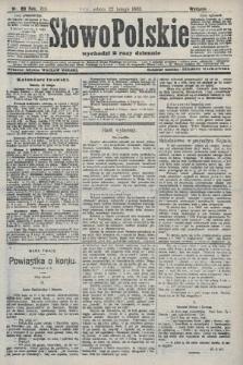 Słowo Polskie (wydanie poranne). 1908, nr89