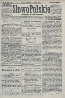 Słowo Polskie (wydanie poranne). 1908, nr97