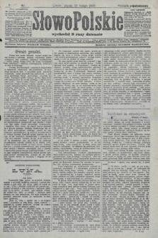 Słowo Polskie (wydanie popołudniowe). 1908, nr100