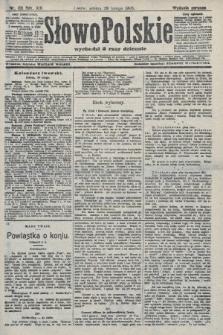 Słowo Polskie (wydanie poranne). 1908, nr101