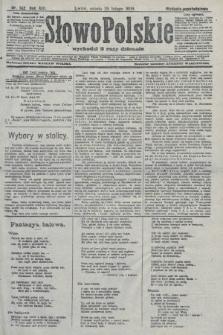 Słowo Polskie (wydanie popołudniowe). 1908, nr102