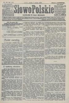 Słowo Polskie (wydanie popołudniowe). 1908, nr114