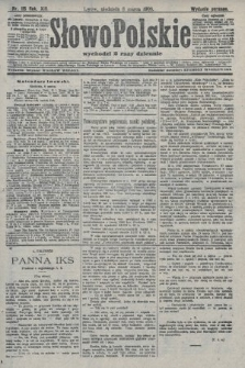 Słowo Polskie (wydanie poranne). 1908, nr115