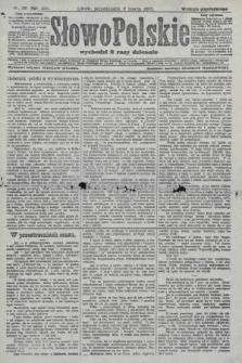 Słowo Polskie (wydanie popołudniowe). 1908, nr116