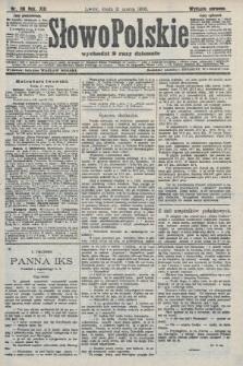 Słowo Polskie (wydanie poranne). 1908, nr119