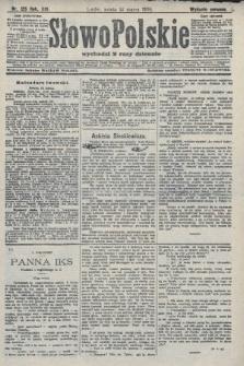 Słowo Polskie (wydanie poranne). 1908, nr125