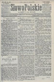 Słowo Polskie (wydanie poranne). 1908, nr129