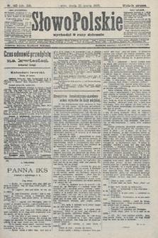 Słowo Polskie (wydanie poranne). 1908, nr143