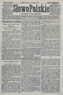 Słowo Polskie (wydanie popołudniowe). 1908, nr165