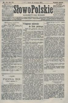 Słowo Polskie (wydanie poranne). 1908, nr170