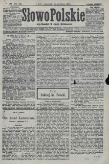 Słowo Polskie (wydanie poranne). 1908, nr180