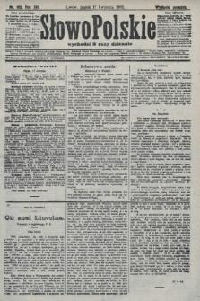 Słowo Polskie (wydanie poranne). 1908, nr182