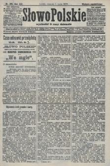 Słowo Polskie (wydanie popołudniowe). 1908, nr210