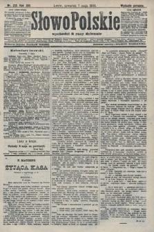 Słowo Polskie (wydanie poranne). 1908, nr213
