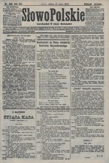 Słowo Polskie (wydanie poranne). 1908, nr229