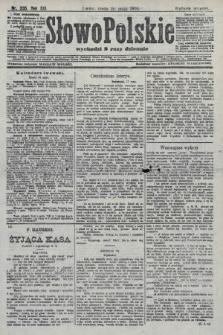 Słowo Polskie (wydanie poranne). 1908, nr235