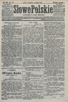 Słowo Polskie (wydanie poranne). 1908, nr237