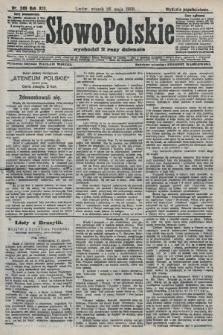 Słowo Polskie (wydanie popołudniowe). 1908, nr246