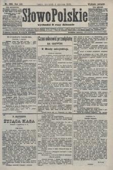 Słowo Polskie (wydanie poranne). 1908, nr260