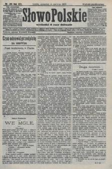 Słowo Polskie (wydanie popołudniowe). 1908, nr261