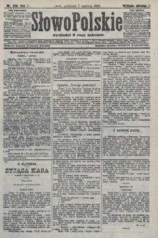 Słowo Polskie (wydanie poranne). 1908, nr266