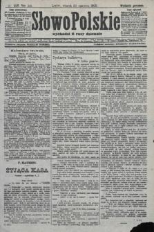 Słowo Polskie (wydanie poranne). 1908, nr300
