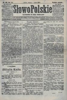 Słowo Polskie (wydanie poranne). 1908, nr312