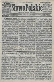 Słowo Polskie (wydanie popołudniowe). 1908, nr331