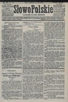 Słowo Polskie (wydanie poranne). 1908, nr346