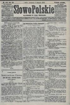 Słowo Polskie (wydanie poranne). 1908, nr370