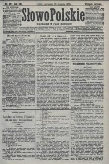 Słowo Polskie (wydanie poranne). 1908, nr387