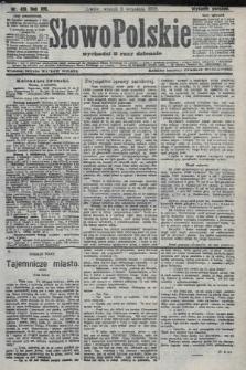 Słowo Polskie (wydanie poranne). 1908, nr419