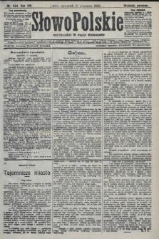 Słowo Polskie (wydanie poranne). 1908, nr434