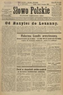 Słowo Polskie. 1932, nr4