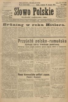 Słowo Polskie. 1932, nr9